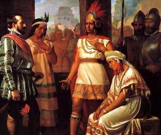 13 Agosto 1521 Cuauhtémoc se rinde ante Hernán Cortes