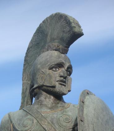 Leónidas I rey de Esparta el héroe de las Termópilas