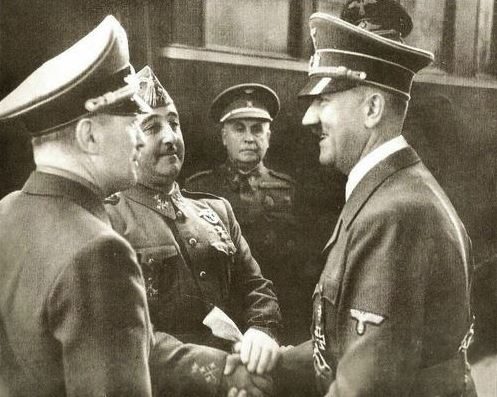 23 Octubre 1940 Franco y Hitler se reúnen en Hendaya