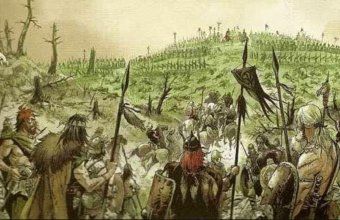 La batalla de Arausio el peor desastre militar de Roma