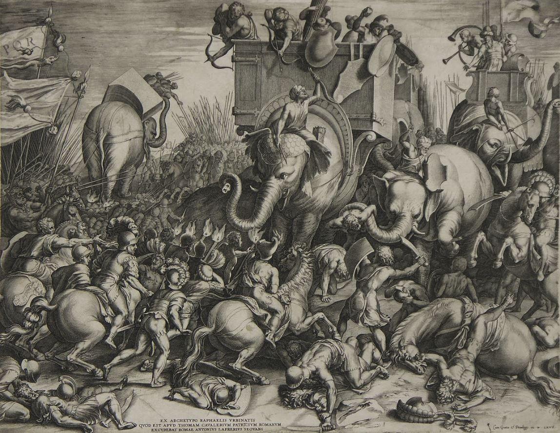 19 Octubre 202 aC Escipión el Africano vence Aníbal Barca