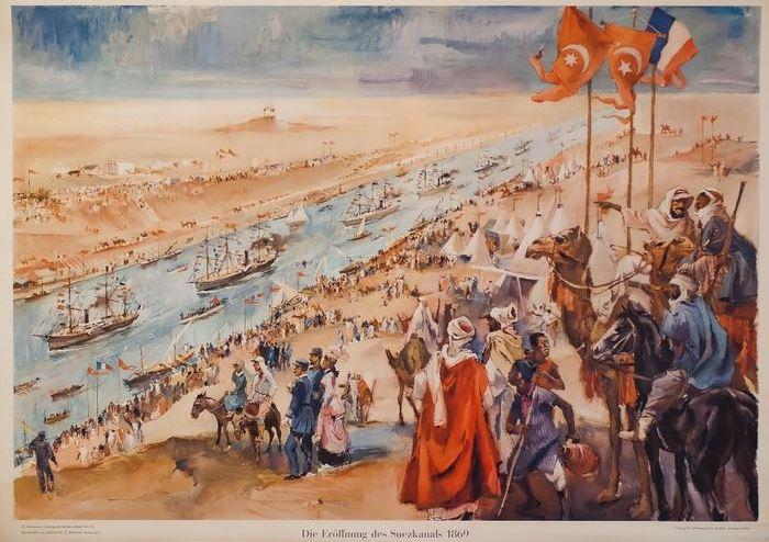 17 Noviembre 1869 Se inaugura el Canal de Suez