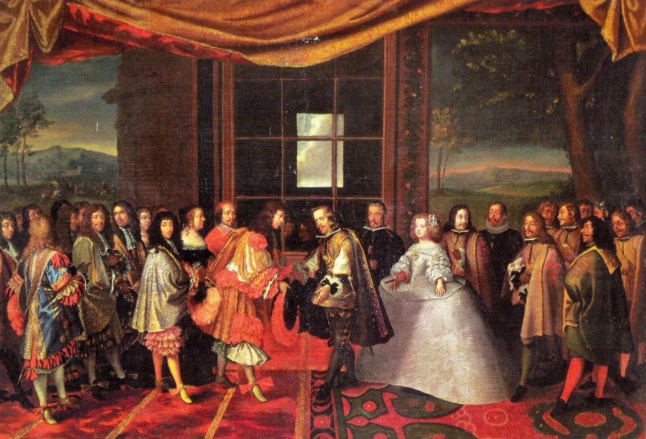 7 Noviembre 1659 Se firma el Tratado de los Pirineos