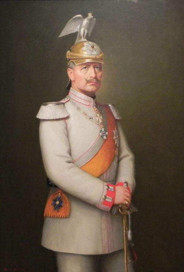 21 Diciembre 1919 Holanda concede asilo político al Kaiser
