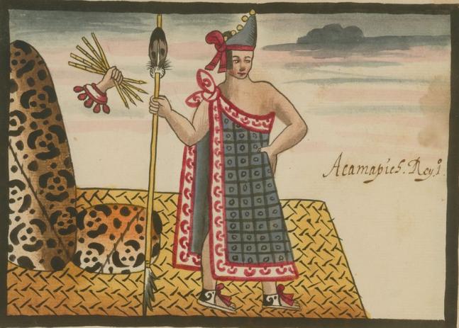 Acamapichtli el primer Huey Tlatoani de los Mexicas