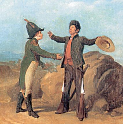 10 Febrero 1821 se produce el Abrazo de Acatempan