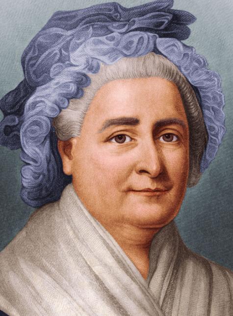 Martha Washington la primera mujer en convertirse en Primera Dama de Estados Unidos