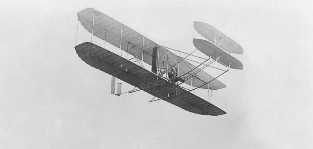 El Wright Flyer el primer avión de la Historia