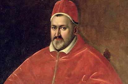 16 Mayo 1605 Paulo V es elegido nuevo Papa de la Iglesia Católica