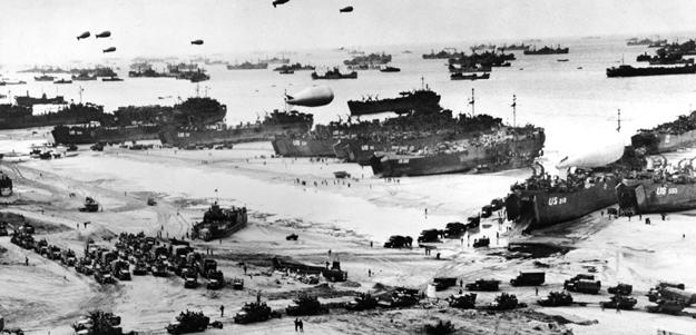 6 Junio 1944 se produce el Desembarco de Normandía durante el transcurso de la Segunda Guerra Mundial.