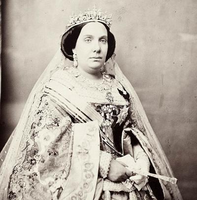 25 Junio 1870 Isabel II abdica del trono español