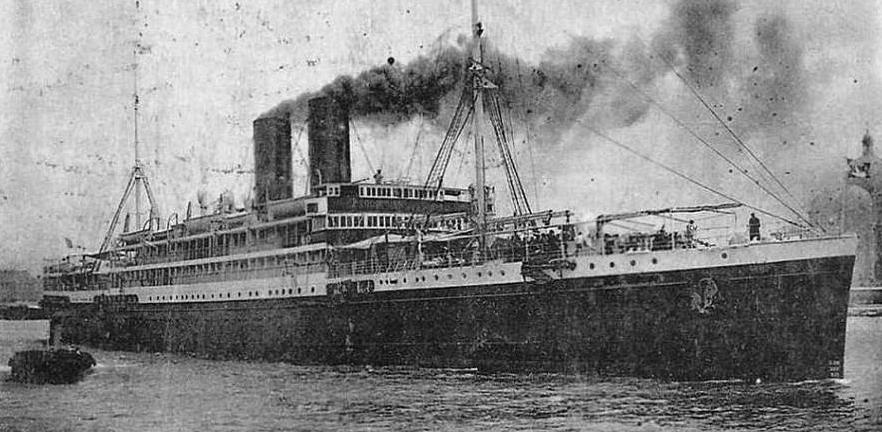 13 Junio 1939 el Sinaia llega a México con exiliados españoles