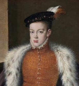 24 Julio 1568 fallece Carlos de Austria hijo de Felipe II de España