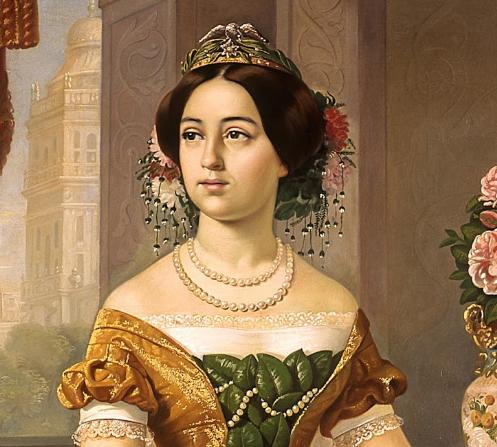 Dolores Tosta la segunda esposa de Santa Anna