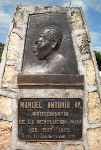 26 Julio 1847 en México es ahorcado Manuel Ay lo que desencadenará la Guerra de Independencia Maya