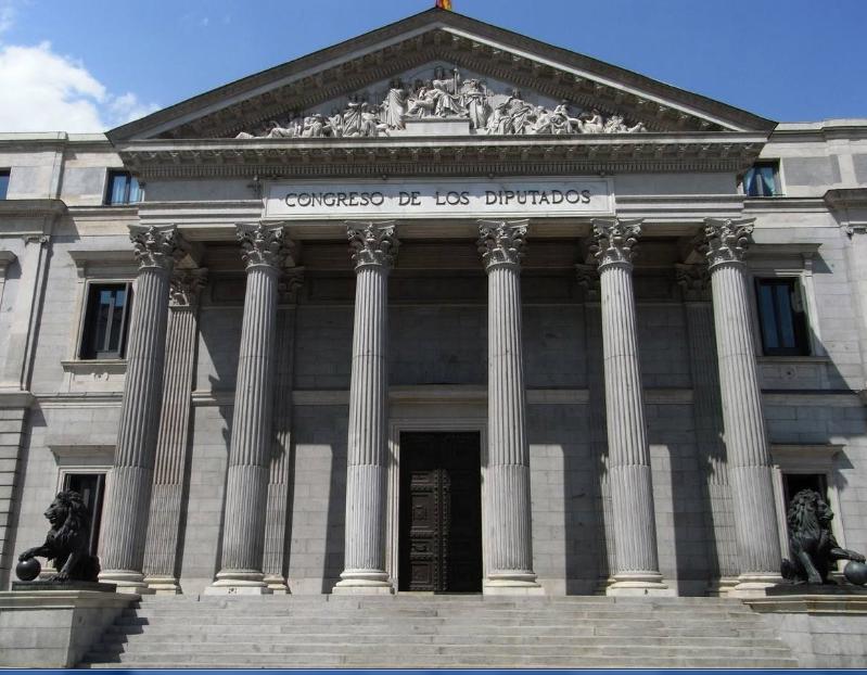 10 Octubre 1843 se coloca la primera piedra en el Palacio del Congreso de los Diputados de España