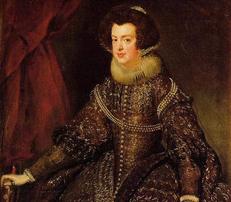 6 Octubre 1644 fallece Isabel de Borbón primera esposa de Felipe IV de España