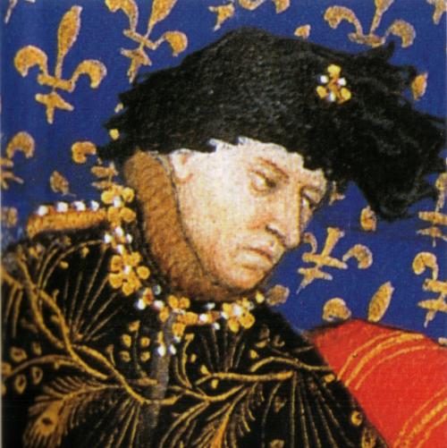 3 Diciembre 1368 nace Carlos VI de Francia