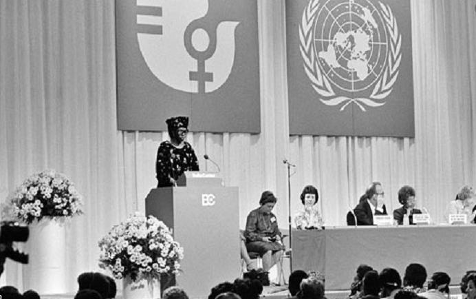 """8 de marzo de 1975 La ONU proclama al día 8 de Marzo """"Día Internacional por los Derechos de la Mujer y la Paz Internacional"""""""