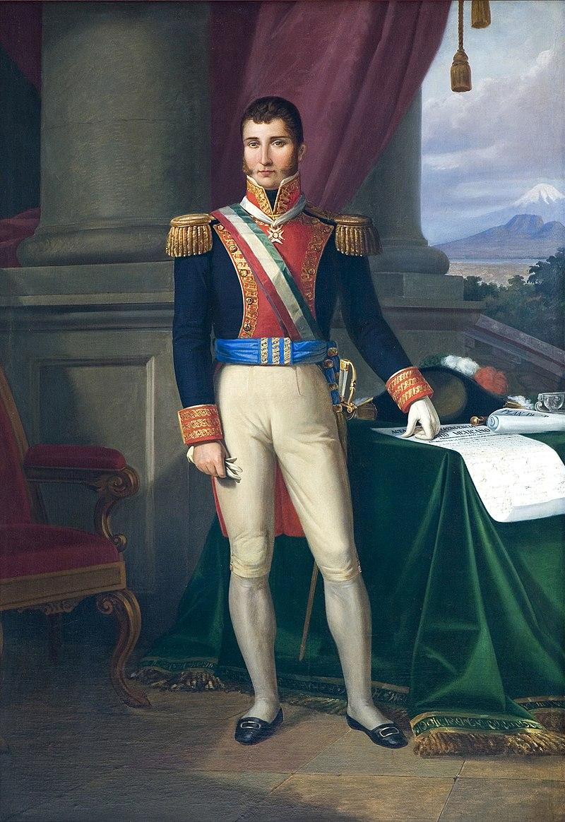 19 de Julio de 1824 El exemperador de México Agustín de Iturbide es fusilado