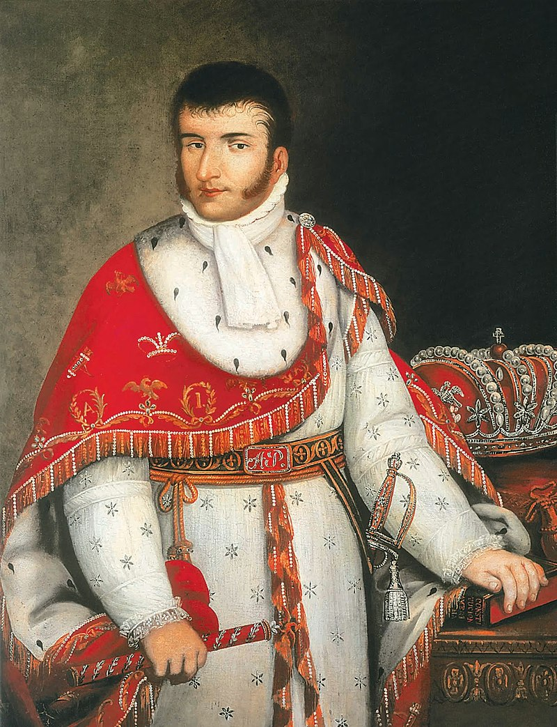 21 de Julio de 1822 Agustín de Iturbide es coronado como primer Emperador de México