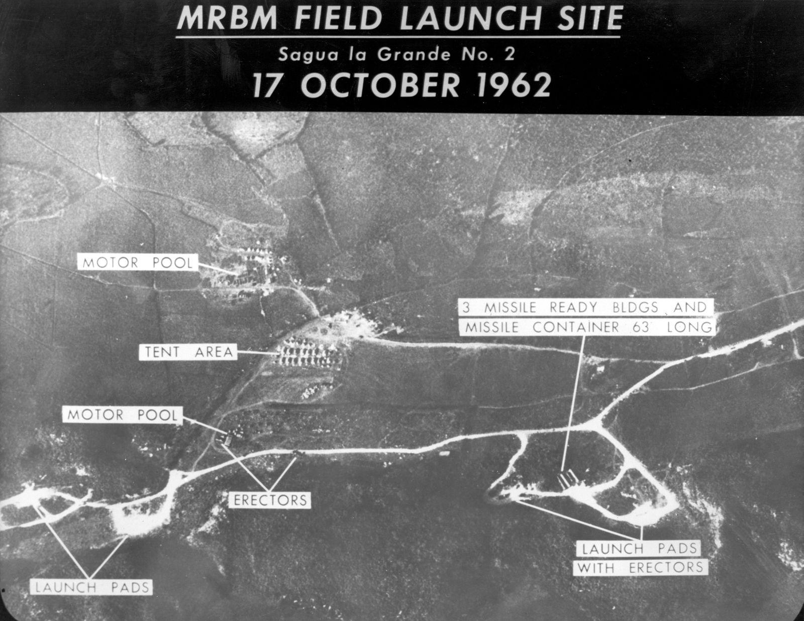 17 de octubre de 1962 Empieza la 'Crisis de los Misiles' entre Cuba, Estados Unidos y la Unión Soviética