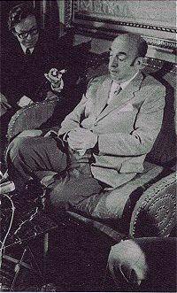 21 de octubre de 1971 Pablo Neruda recibe el Premio Nobel de Literatura