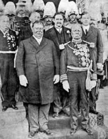 16 de octubre de 1909 En Ciudad Juárez, tiene lugar la primera visita de Estado de un presidente de los Estados Unidos en suelo mexicano