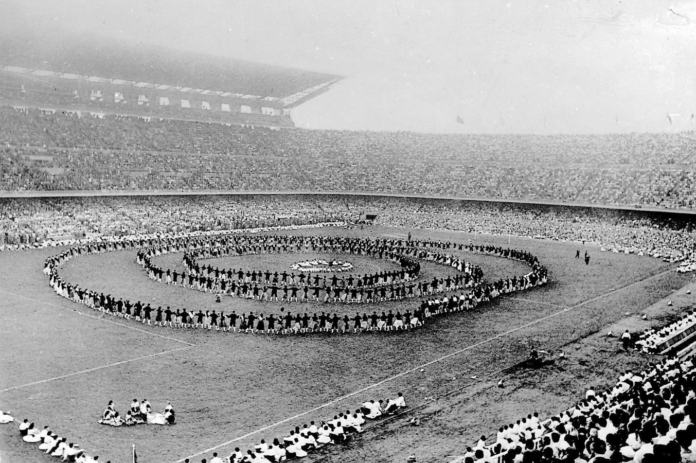 Inauguración del Camp Nou