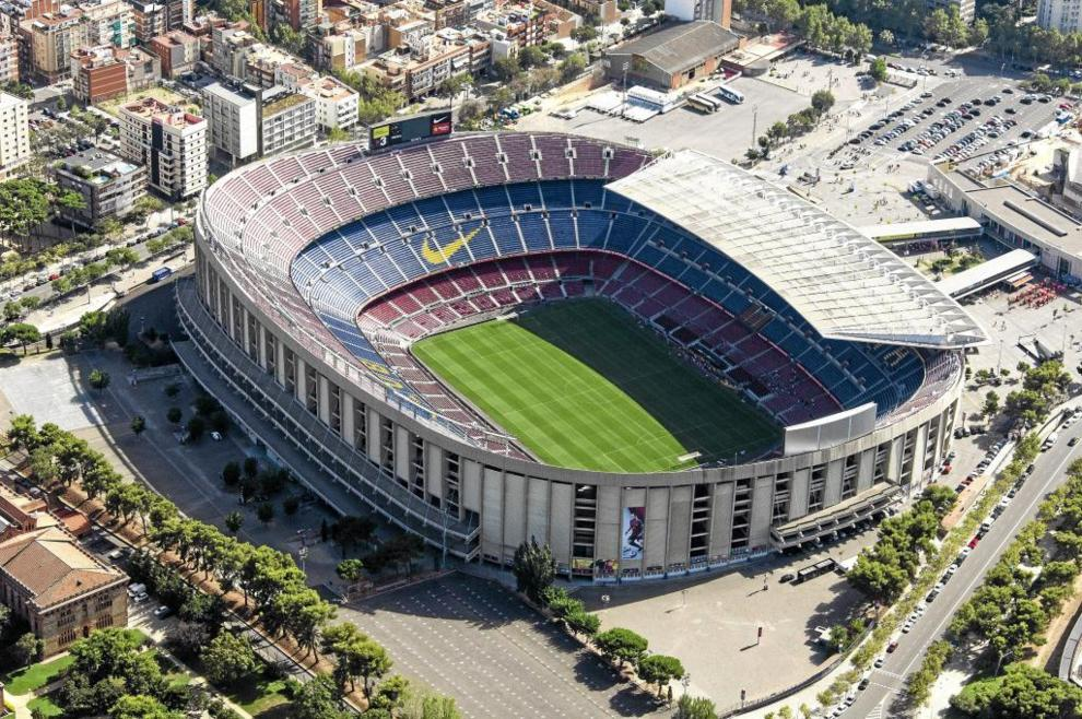 Camp Nou vista aérea
