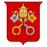 Escudo de la Ciudad del Vaticano