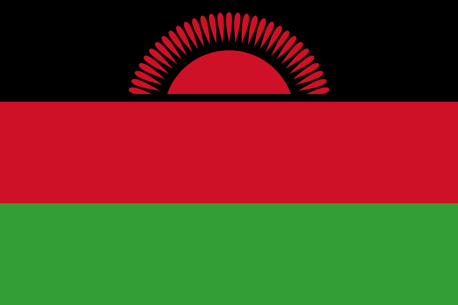Bandera de Malaui