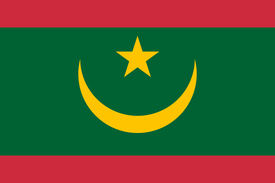 Bandera de Mauritania