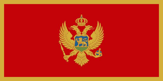 Bandera de Montenegro