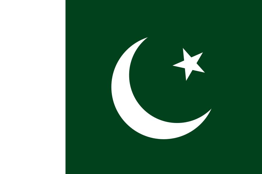 Bandera de Pakistán