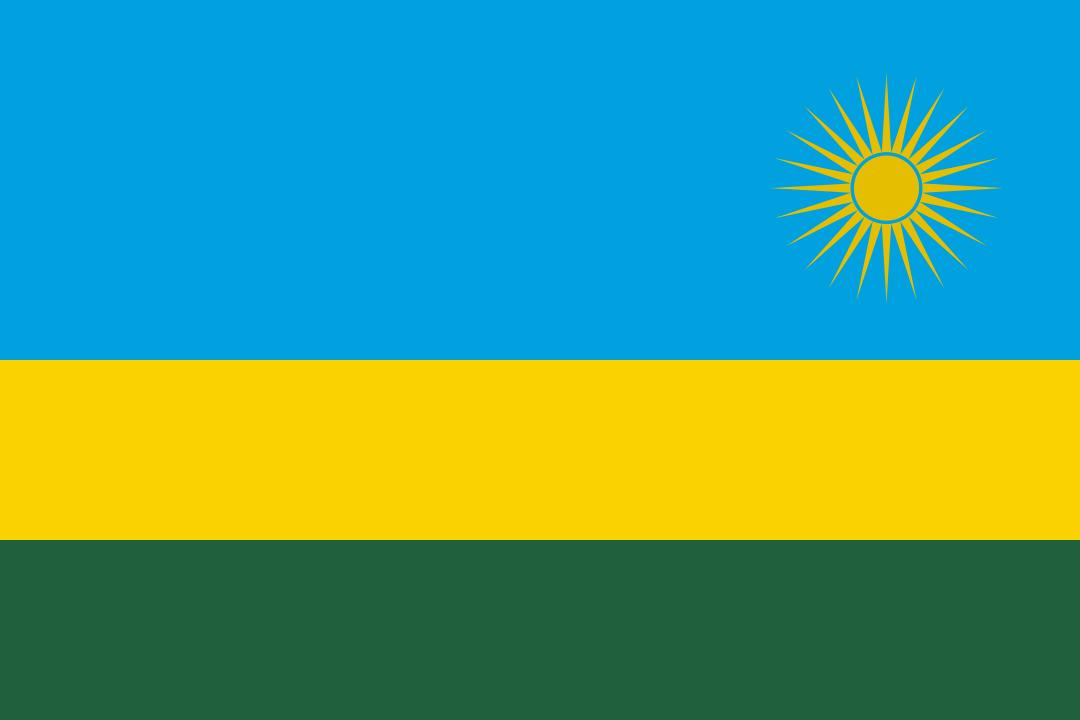 Bandera de Ruanda