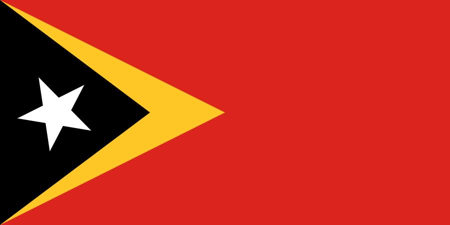Bandera de Timor Oriental