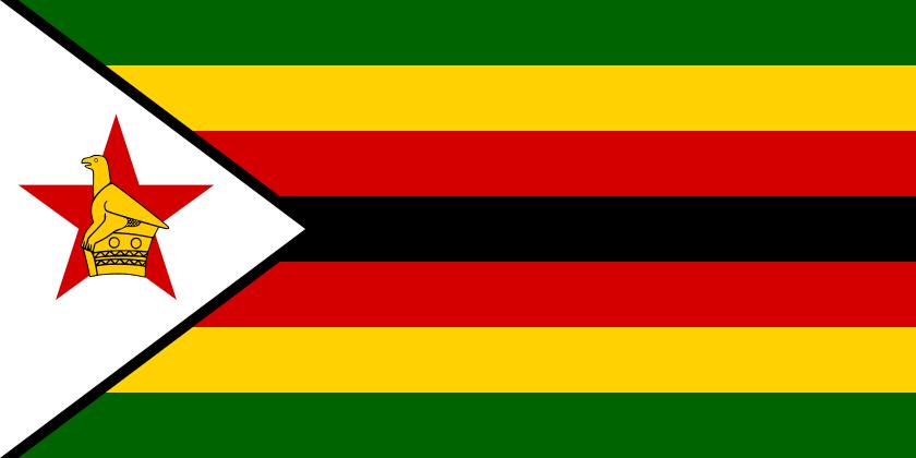 Bandera nacional de Zimbaue