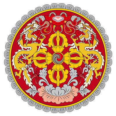 Emblema de Bután