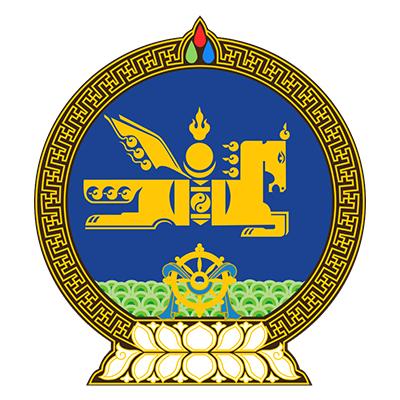 Emblema de Mongolia
