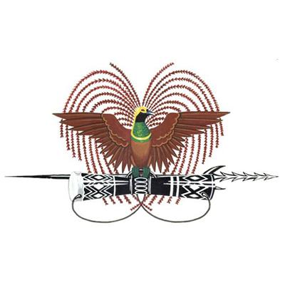 Emblema de Papúa Nueva Guinea