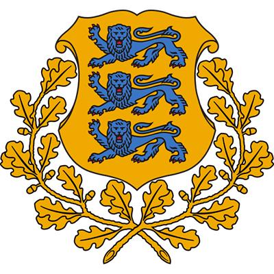 Escudo de Estonia