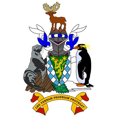 Escudo de Islas Georgias del Sur y Sandwich del Sur