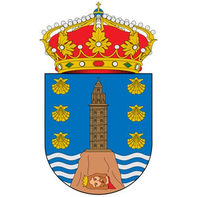 Escudo de la provincia de A Coruña