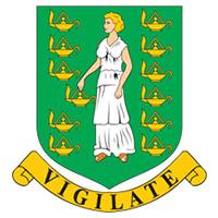 Escudo de las Islas Vírgenes Británicas