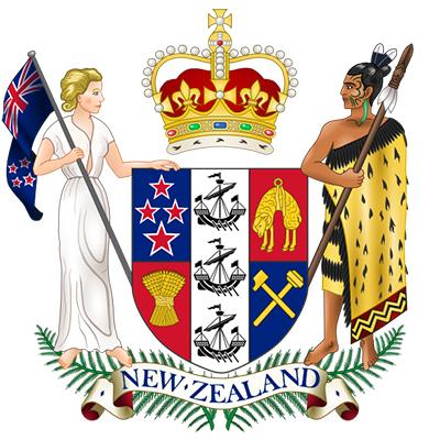 Escudo de Nueva Zelanda