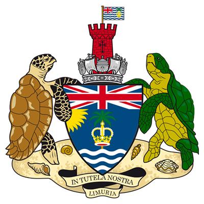 Escudo del Territorio Británico del Océano Índico