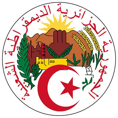 Sello de Argelia