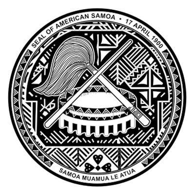 Sello de Samoa Americana